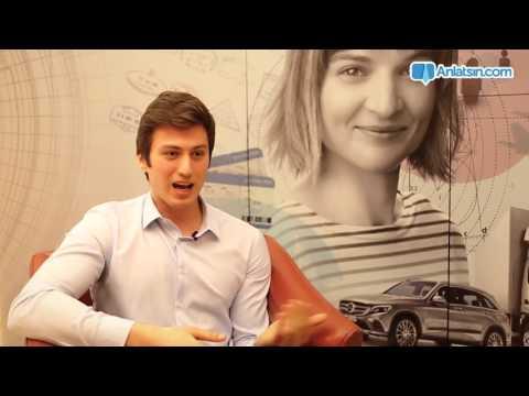 PEP Üretim Stajyeri olarak Mercedes-Benz Türk'te bir gününüz nasıl geçiyor?