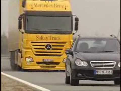 Mercedes Benz Safety Truck