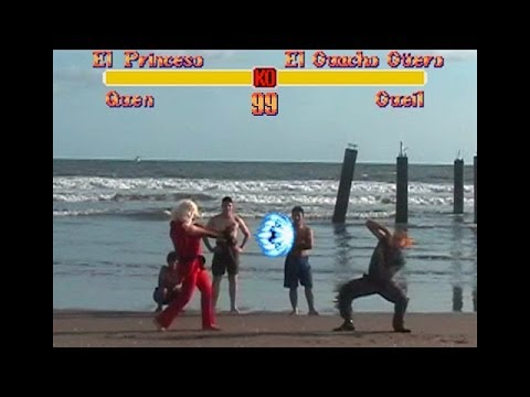 Street Fighter 2 - A bunch of Cosplayers recreate