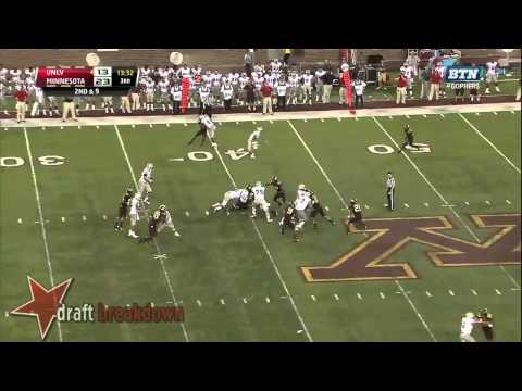 Ra'Shede Hageman vs UNLV 2013 video.