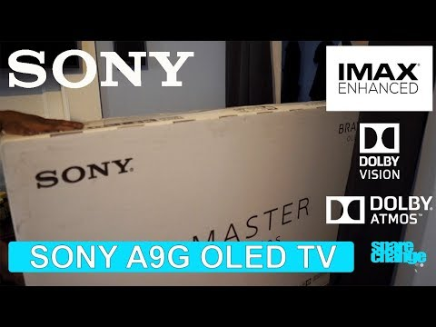 SONY A9G OLED TV | The IMAX Enhanced OLED! Unboxing & Settings