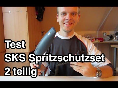 Test SKS Schutzblech Spritzschutzset | MTB Schutzblech | Fahrrad Schutzblech | Steckschutzblech