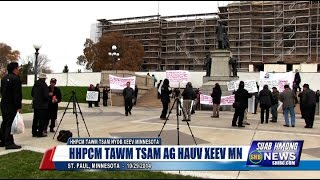 Suab Hmong News:  HHPCM Rally at the Minnesota State Capitol on October 29, 2014
