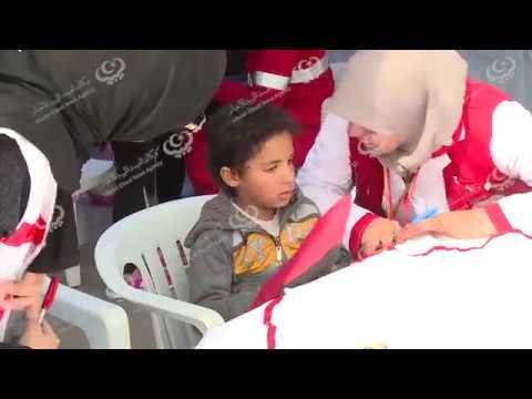 مستشفى ميداني لتوفير الخدمات الصحية والاسعافات الأوليةأيام الاحتفال