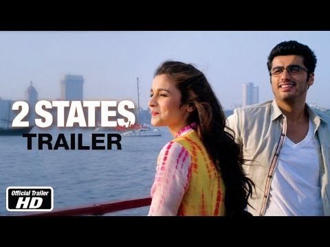 [2] - Presenting the much awaited trailer of 2 states, an adaptation from Chetan Bhagat's bestselling novel (2 States). The film is directed by Abhishek Varman, st...