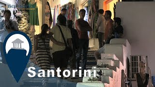 Santorini | Walking in Fira