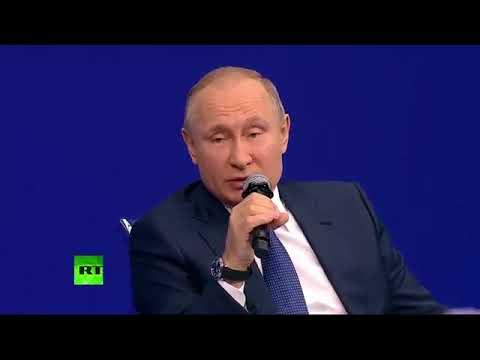 Встреча В Путина с доверенными лицами. Февраль 2018.