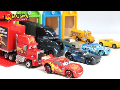 Learning Color Special Disney Pixar Cars Lightning McQueen Mack Truck New Car3 For Kids Car Toys