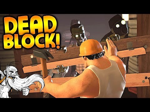 "Dead Block Gameplay - ""THE SECRET LOST ZOMBIE GAME!!!""  - Story Mode Let's Play"