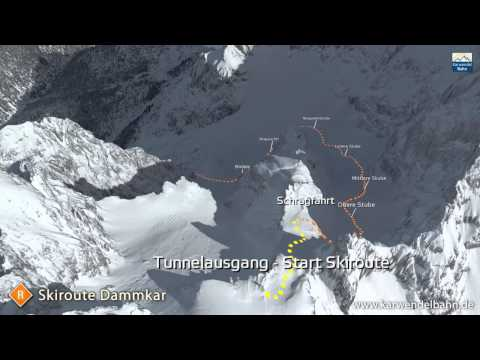 Karwendelbahn Dammkar Route
