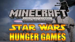 "Minecraft: Xbox 360 - ""Star Wars"" Hunger Games W/ Youtubers 