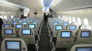 Walk Through Ethiopian Airlines' First 787 - August 2012