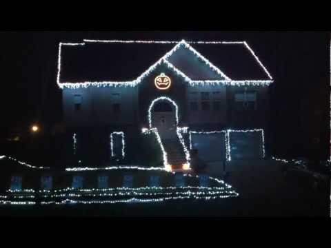 Tributo a Los Cazafantasmas con Luces de Halloween