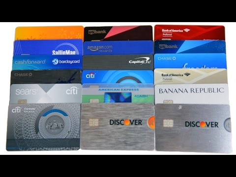 All 18 Credit Cards I Use Revealed | BeatTheBush