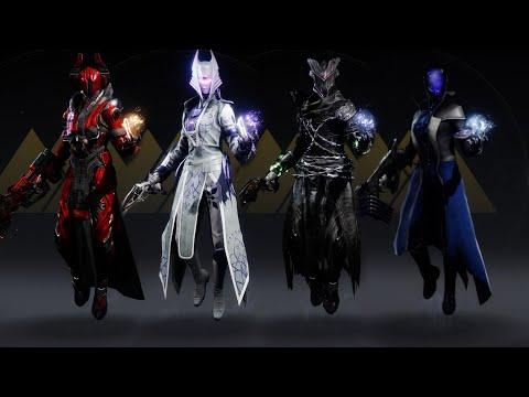 Destiny 2 Warlock Fashion Sets #6