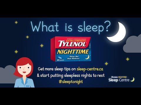 What is Sleep By TYLENOL® NIGHTTIME