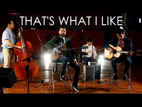 Bruno Mars - That's What I Like (Dario Pinelli & the IGF Trio Acoustic Cover)