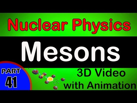 Mesons | Nuclear Physics |  Class 12 Physics Subject Notes Lectures|CBSE|IITJEE|NEET