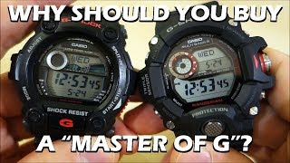 "Comparison of a ""standard"" G-Shock with the awesome ""Master of G"" Rangeman Triple Sensor Tough Solar watch - is it worth 3 times the price?Like on Facebook: https://www.facebook.com/PerthWAtchYouTube/#casiogshock #sportswatchG-Shock Models:G-7900-1 (Module 3194) - http://products.g-shock.com/asia-mea/en/_detail/G-7900-1/GW-9400-1 Rangeman (Module 3410) - http://products.g-shock.com/asia-mea/en/_detail/GW-9400-1/===========Perth WAtch - Sharing my passion for horology and watches. Enjoy the videos on watch reviews, general thoughts & discussions, side-by-side comparisons, horology topics, and more!Watch Reviews Playlist: https://www.youtube.com/watch?v=h8DySE9bYGU&list=PL1qbhxREC4LQGhBi-ErvsxVz3Kc5P4FOxWatch Topics & Discussions: https://www.youtube.com/watch?v=u3IWov7lrrk&list=PL1qbhxREC4LT9JMopfMG2-wu6rFhsJCIuSubscribe: https://www.youtube.com/channel/UCjBOEG8LoZOV0qOO7TdlHlA?sub_confirmation=1===========Music:""Shiny Tech"" Kevin MacLeod (incompetech.com)Licensed under Creative Commons: By Attribution 3.0 Licensehttp://creativecommons.org/licenses/by/3.0/"