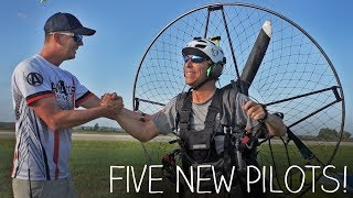 Video Learning To Fly A Paramotor! MP3, 3GP, MP4, WEBM, AVI, FLV Agustus 2018