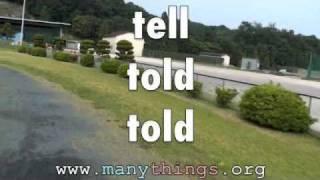 ESL Irregular Verbs #2 (Listen&Repeat)
