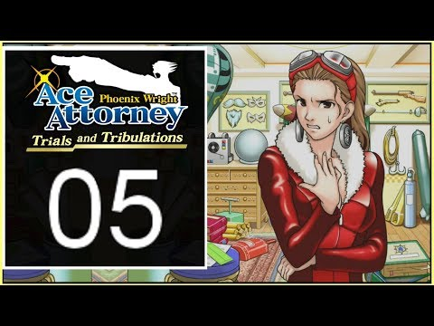 Phoenix Wright: Trials and Tribulations - Episode 5 | Investigation [The Stolen Turnabout]