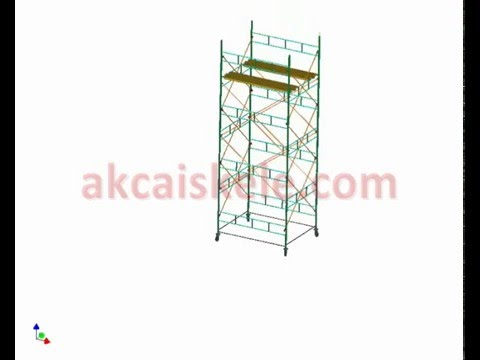 AKCA Scaffolding - all scaffolding type - installation connection details