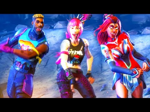 FUNNY CHARACTER FACES EMOTE! Fortnite Battle Royale