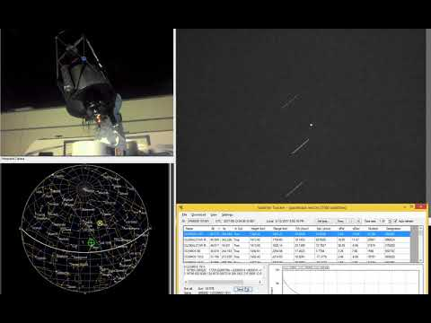 Tracking satellites with L-500 Direct Drive Mount