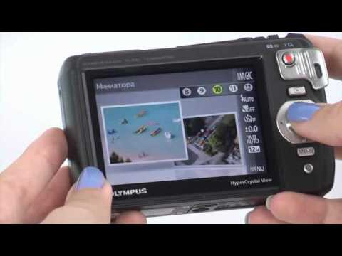 Olympus Tough TG-820 Video Review in English