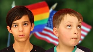 Video Australian Kids Respond To America's Same-Sex Marriage Ruling MP3, 3GP, MP4, WEBM, AVI, FLV Desember 2017