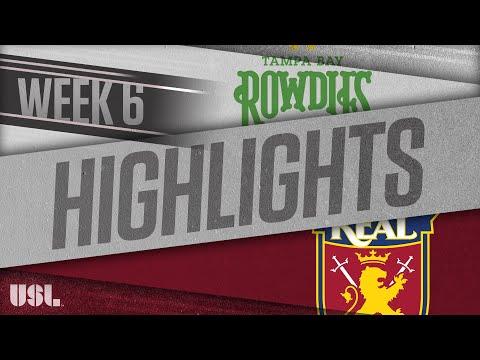 Tampa Bay - Реал Монаркс 2:0. Видеообзор матча 22.04.2018. Видео голов и опасных моментов игры