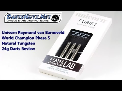 Unicorn Barneveld Phase 5 Natural 24g darts review