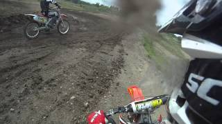 10. 2006 Crf 250 blows up - Go Pro HD