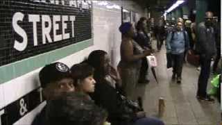 Beyonce - Halo - Live In New York City Subway - Silvia Jhony