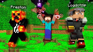 I FOUND HEROBRINE in MCPE! (Minecraft Pocket Edition Herobrine Seed)