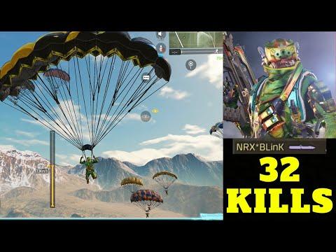 32 kills / Legendary BLinK Salute + Knife Kill / Solo vs squad Legendary Ranking