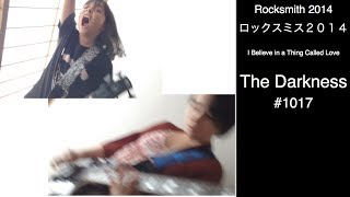 Here is Audrey (13) and Kate (8) playing Rocksmith - I Believe In a Thing Called Love - The Darkness. Kate CRAZY!!!! So MUCH FUN!!!!  Thanks so much for watching!!!! オードリー(13)とケイト(8)でロックスミスのマルチプレイヤーに挑戦。 I Believe In a Thing Called Love - The Darknessです。 CRAZY!!!!! とっても楽しかった! Thanks so much for watching!!!