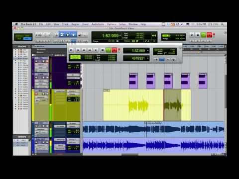 QuickPunch in Pro Tools – homestudiocorner.com