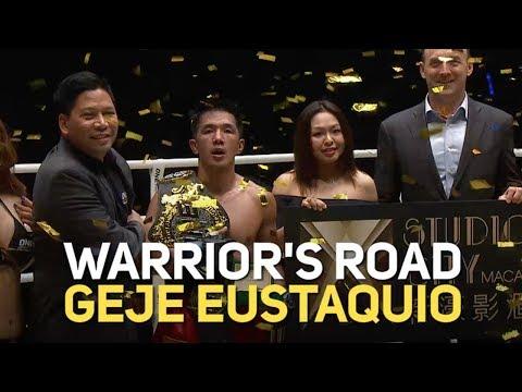 Geje Eustaquio's 2018 Full Fights   ONE: Warrior's Road