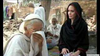 ANGELINA JOLIE IN PAKISTAN AID 2010 - YouTube.flv Video
