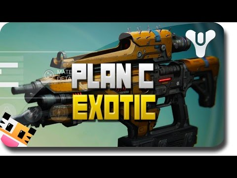 rifle - This video will review the Exotic Weapon: Plan C in Destiny. This Destiny Exotic Fusion Rifle is a below average Exotic Fusion Rifle in Destiny. If you have any questions on this Destiny Exotic...