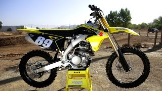 6. First Ride 2017 Suzuki RMZ 250 - Motocross Action Magazine