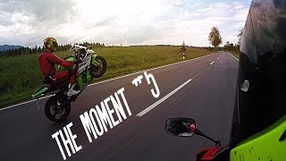 8. The Moment #5 | 2015 Kawasaki Ninja ZX-10r Wheelies