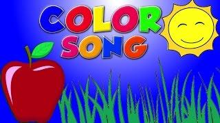 Warna Lagu Bhs Inggris   Pendidikan Video   Educational Video   Color Song In English