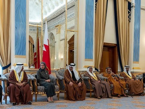 HRH the Crown Prince receives the Speaker of the Council of Representatives and the Shura Council Chairman