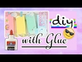 DIY Decoden Whipped Cream with Glue| How to