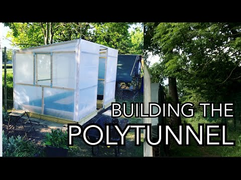 Building a Polytunnel || How I built my Polytunnel from scratch.