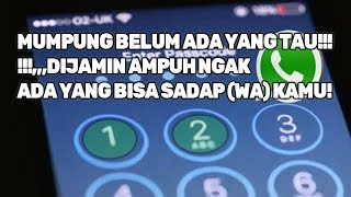 Video Begini Cara Mengamankan WhatsApp agar tidak bisa Disadap! MP3, 3GP, MP4, WEBM, AVI, FLV Juli 2018