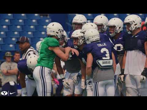 BYU Football - Fall Camp - Scrimmage #1 - August 11, 2018